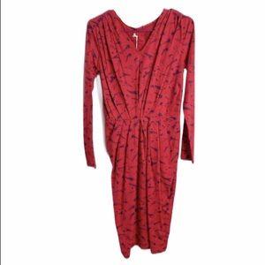 NEW zakee shariff people tree 10 red star dress